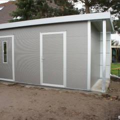 GO-ISO - hochwertiges Gartenhaus isoliert 5,00 x 2,50 m:  Gartenhaus von Trapezblech Gonschior oHG