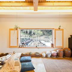 Dining room by 건축사사무소 아키포럼