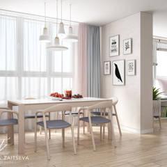 Lekkie skandynawskie wnętrze teraz w modzie!: styl , w kategorii Jadalnia zaprojektowany przez Design studio TZinterior group