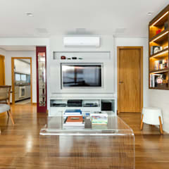 غرفة المعيشة تنفيذ ABHP ARQUITETURA