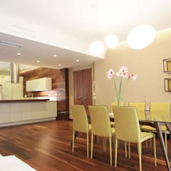 Abitazione Privata V1: Sala da pranzo in stile  di Architetto Adalberto Pacillo
