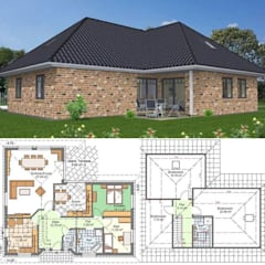 Einfamilienhaus Heeßel 1:  Bungalow von Kurt Buck Baugesellschaft