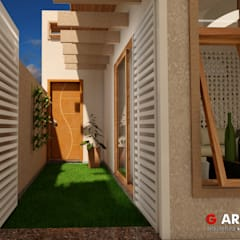Terrace house by G . Arqui - Arquitetura e Interiores,