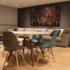 Departamento Acueducto - ARCO Arquitectura Contemporánea: Comedores de estilo  por ARCO Arquitectura Contemporánea