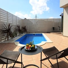 Pool by PROSPERDESIGN ARCHITECT OFFICE/プロスパーデザイン, Tropical
