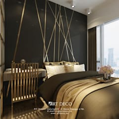 One Homantin :  Bedroom by Art Deco Design Ltd.