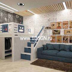 Kinderzimmer Junge von Дизайн студия 'Дизайнер интерьера № 1'