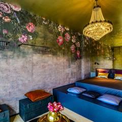 غرفة نوم تنفيذ Arabella Rocca Architettura e Design