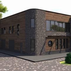 фасад промышленного здания: Дома в . Автор – DS Fresco