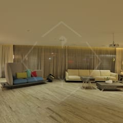 EXPRESSION Modern living room by SPACCE INTERIORS Modern