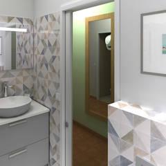 Salle d'eau version 2: Salle de bains de style  par MJ Intérieurs