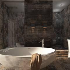 DS Desıgn Studıo – Banyo - Türk Hamamı: modern tarz Banyo