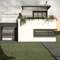 Villas de estilo  de ATELIER OPEN ® - Arquitetura e Engenharia