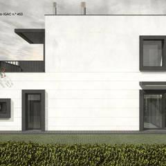 Casas de campo de estilo  por ATELIER OPEN ® - Arquitetura e Engenharia