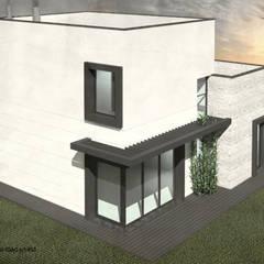 Moradia Bicesse (Cascais) por ATELIER OPEN ® - Arquitetura e Engenharia Eclético Ferro/Aço