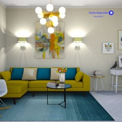 Living room: minimalistic Living room by 'Design studio S-8'