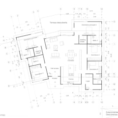 Diseño y Construcción de Casa en Santo Domingo por ARquitectura: Casas unifamiliares de estilo  por ARquitectura