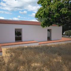 Projekty,  Dom rustykalny zaprojektowane przez André Pintão