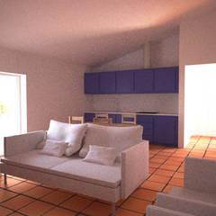Monte da Dourada: Salas de estar  por André Pintão