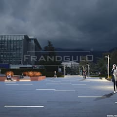 Shoppings y centros comerciales de estilo  por Frandgulo