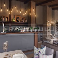 Дизайн кафе Ялтинский Дворик. Концепт №2: Ресторации в . Автор – Frandgulo