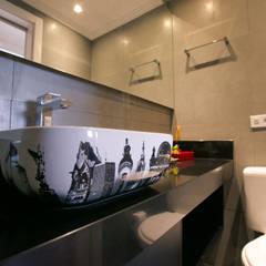 Projeto PDD: Banheiros  por Saia Arquitetura