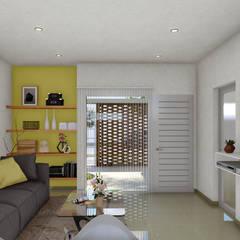 : Livings de estilo minimalista por ARBOL Arquitectos