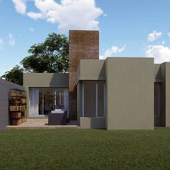 Jardines minimalistas de ARBOL Arquitectos Minimalista