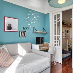 Habitaciones para niñas de estilo  por SHI Studio, Sheila Moura Azevedo Interior Design