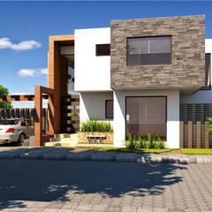 Haus Naranjos: Casas unifamiliares de estilo  por Biohausen