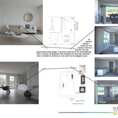 design + eindresultaat:  Woonkamer door KleurInKleur interieur & architectuur
