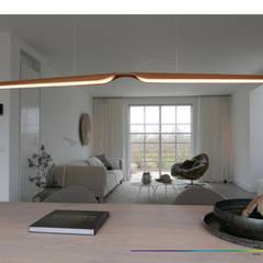 minimalistisch interieur: minimalistische Woonkamer door KleurInKleur interieur & architectuur
