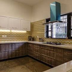 Kitchen units by KRIYA LIVING