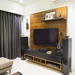3 BHK Apartment - Raheja Pebble Bay:  Electronics by KRIYA LIVING