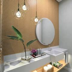 LAVABO: Banheiros  por Letícia Saldanha Arquitetura
