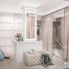 Квартира в Уфе: Гардеробные в . Автор – Студия авторского дизайна ASHE Home