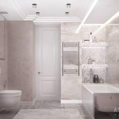 Квартира в Уфе: Ванные комнаты в . Автор – Студия авторского дизайна ASHE Home
