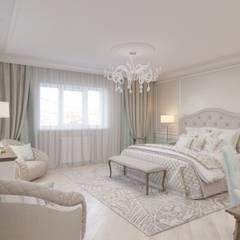 Коттедж в Нагаево: Спальни в . Автор – Студия авторского дизайна ASHE Home