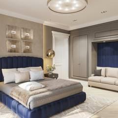 Коттедж Речные Зори: Спальни в . Автор – Студия авторского дизайна ASHE Home