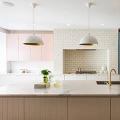 Urban rustic style - Victorian villa, Hammersmith:  Built-in kitchens by My-Studio Ltd