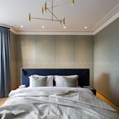 Brook Green London townhouse:  Bedroom by My-Studio Ltd