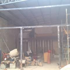 Materializando PRE_MARCOS estructurales para aberturas: Oficinas y Tiendas de estilo  por CONSTRU/ARQ:  Construya Ud.una Arquitectura de manera PLANIFICADA, INTELIGENTE Y SEGURA