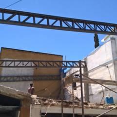 Panificadora San Alfonso : Oficinas y Tiendas de estilo  por CONSTRU/ARQ:  Construya Ud.una Arquitectura de manera PLANIFICADA, INTELIGENTE Y SEGURA,