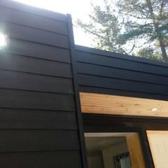 Bungalows by Incove - Casas de madera minimalistas, Mediterranean