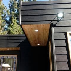 Casas de Madera: Casas unifamiliares de estilo  por Incove - Casas de madera minimalistas