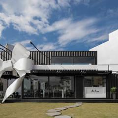 A&J CAFE:  餐廳 by 存果空間設計有限公司, 現代風