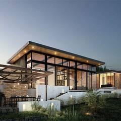 Condominios de estilo  por LATIFF Diseño y construcción