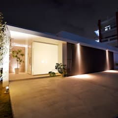 外観: 有限会社 秀林組が手掛けた一戸建て住宅です。