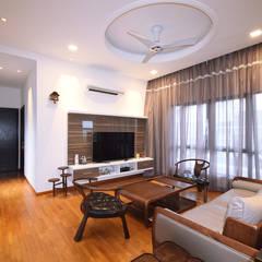 Kajang Jade Hills :  Living room by Hatch Interior Studio Sdn Bhd