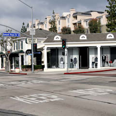 HUGO HUGO BOSS Store LA Sunset Plaza:  Ladenflächen von Plan2Plus design - Architektur I Innenarchitektur I Design